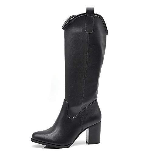 IF Fashion GL601 buty damskie na wiosnę i lato, czarny - 6786 Nero - 39 eu
