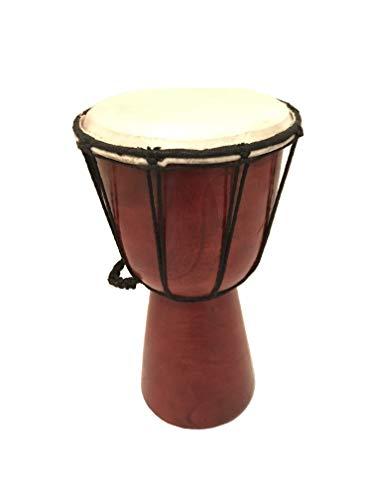 Handtrommel Buschtrommel Djembe Trommel HAND MADE Bongo aus Bali ca. 25 cm Drum