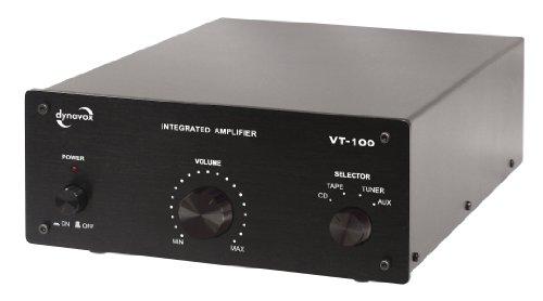 Dynavox VT-100 versterker zwart