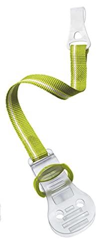 Philips Avent SCF185/00 Beruhigungssauger-Clip für Neugeborene, Farbe nicht frei wählbar, grün/rosa/blau