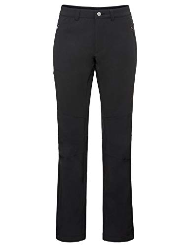 VAUDE Men's Strathcona Warm Pants Pantalon Homme, Noir uni, 58-Long