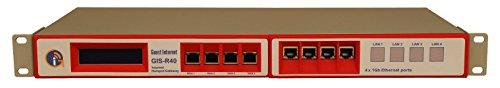 GIS-R40 Quad WAN Internet Hotspot Gateway voor 1000 gebruikers