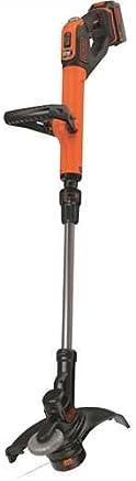 Black+Decker STC1840EPC-QW - Cortabordes PowerCommand EasyFeed (litio, 30 cm, 18 V, 4 Ah)