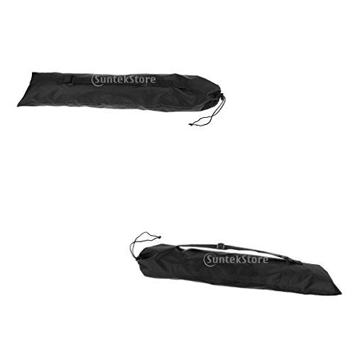 MagiDeal Alpenstock Pouch Bag Pour Randonnée Trekking Escalade 2pcs