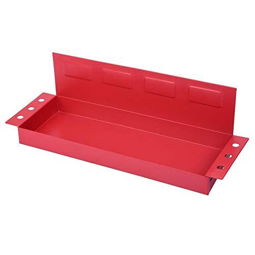 Annjom Robuste Magnetbox mit Schraubendreherhalter-Werkzeugablage für Kühlschrank-Werkzeugschrank