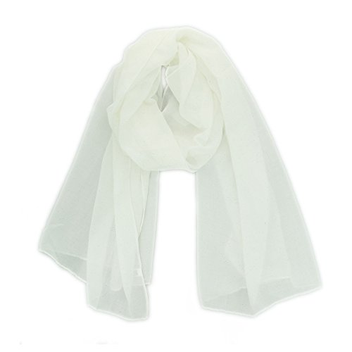 FASHIONGEN - Fular para Mujer, WIKTORIA - Blanco