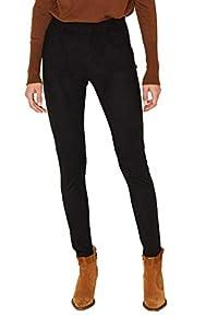 ESPRIT Damen 109Ee1B031 Hose, Schwarz (Black 001), W/L30(Herstellergröße:38/30)