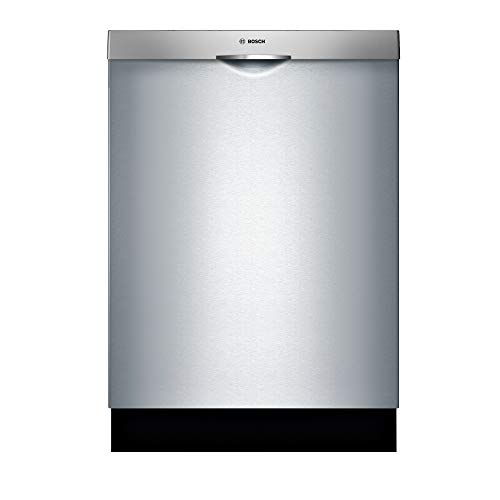 """Bosch SHSM63W55N 24"""" 300 Series Built In Fully Integrated Dishwasher with 5 Wash Cycles, in Stainless Steel"""