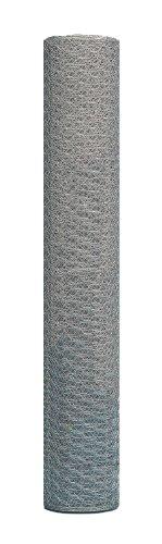 GAH-Alberts 45741 Rouleau de grillage hexagonal en hexanet galvanisé, hauteur 500 mm, maille 13 mm, diamètre fil métallique 0,7 mm, longueur 10 m (Import Allemagne)