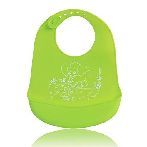 Mikiya babyslabbetjes, silicone, waterdicht, speekselvoering, handdoeken, voor pasgeborenen, cartoon-tekening, schorten, verstelbaar
