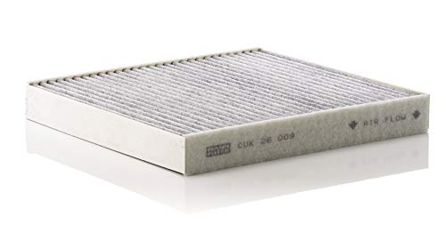 Original MANN-FILTER Innenraumfilter CUK 26 009 – Pollenfilter mit Aktivkohle – Für PKW