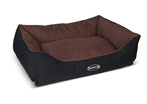 Scruff´s Expedition Outdoor Box Bed Hundebett für draußen, wasserdicht, waschmaschinenfest L 75 x 60 cm