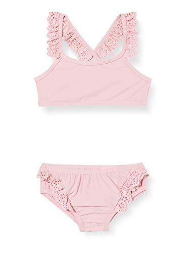 NAME IT Mädchen NMFZOLLA Bikini-Set, Pink Nectar, 98/104