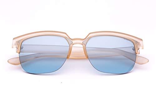 Saraghina Eyewear - Gafas de sol de nailon ultraligeras, color miel