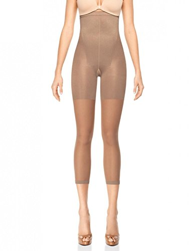 Spanx Shapewear For Women Original High-Waisted Footless Tummy Control Shaper (Regular and Plus Sizes) Nude c