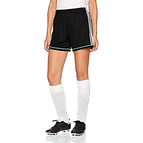adidas Squad 17 SHO W, Pantaloncini Donna, Nero/Bianco, M/L