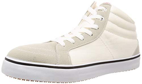 [サンダンス] 安全靴 ハイカット キャンバス スニーカー SD88-HI ホワイト 25 cm