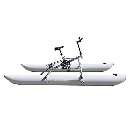 LHYCM Equipo De Deportes Acuáticos Bicicleta De Agua Bicicleta Yate Inflable Bote Inflable Ciclo De Agua para Parque Acuático