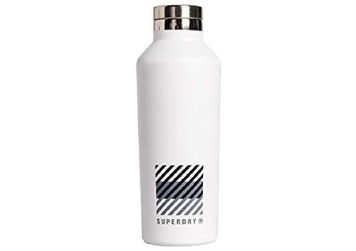 Superdry Training Steel Bottle White