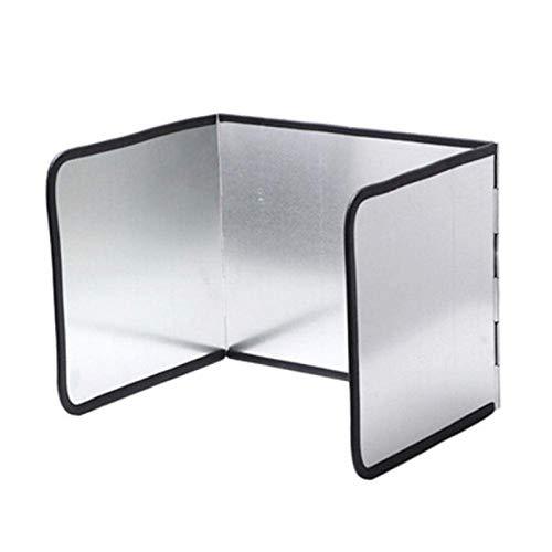 CSPone Faltbare Küchen-Spritzplatte, Spritzschutz, Küchen- und Herdschutz, Herd-Spritzschutz (Klein)