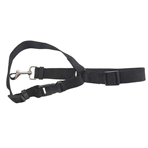 SNOWINSPRING Traílla Arnés para Cinturón de Asiento de Coche Ajustable de Seguridad para Perro Gato Mascota Plomo Correa de Clip de Viaje