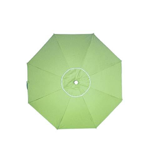Pincho Sombrilla 240 cm Tela de poliéster con Protección Solar UPF50+ (bloquea 99% de Rayos UV),Sombrilla de Playa/jardín de Aluminio de 2,4 m de diámetro.