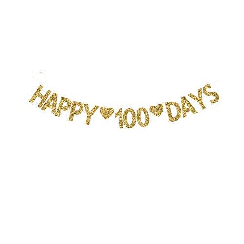 Happy 100 Days Banner, Baby