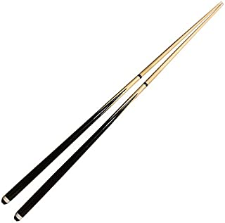 JX Pool Cues New 58 Inch Billiard Cue Sticks 13mm Glue-on Tips Hardwood Wooden Cues Set of 2
