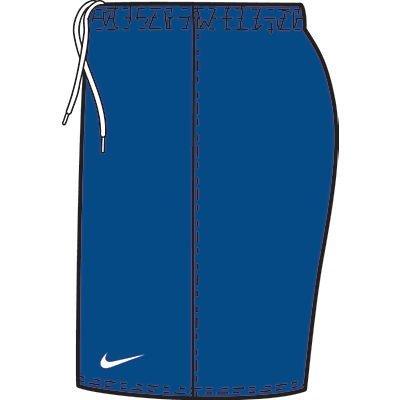 NIKE - Pantalones Cortos para niño, tamaño L, Color atlántico Azul/Blanco