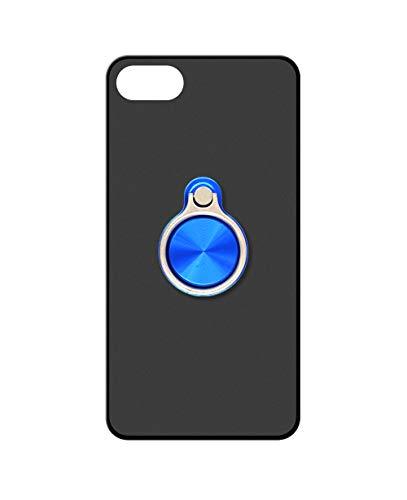 Sunrive Kompatibel mit Oppo F1 Plus/R9 Hülle Silikon, 360°drehbarer Ständer Ring Fingerhalter Fingerhalterung Handyhülle matt Schutzhülle Etui Hülle (A3 Blau) MEHRWEG