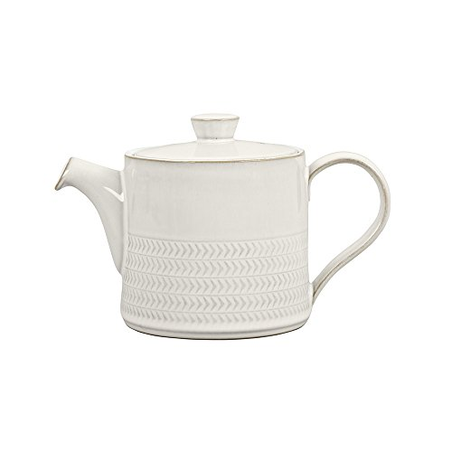 Denby USA Natural Canvas Textured Teapot