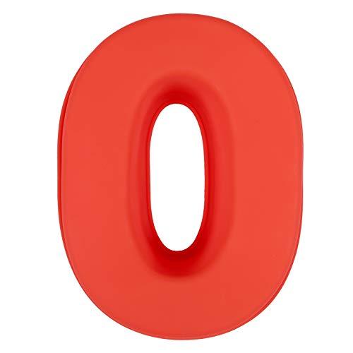 LIHAO Molde de Silicona Números Moldes de Formas Específicas para Tarta Pastel Repostería Cumpleaños Aniversario de Bodas - Número 0