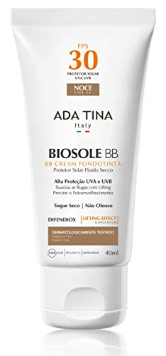 Protetor Solar Biosole BB Cream FPS 30 Noce, Ada Tina