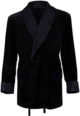 Regency New York LuxuRobes Men's Smoking Jacket