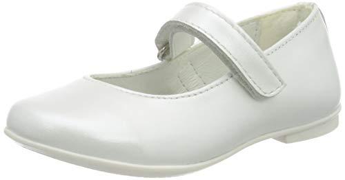 PRIMIGI Mädchen Ballerina Bambina Mary Jane Halbschuhe, Weiß (Bianco 5437500), 34 EU