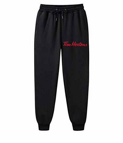 AILIBOTE Tim Hortons - Pantalones deportivos cómodos para hombre