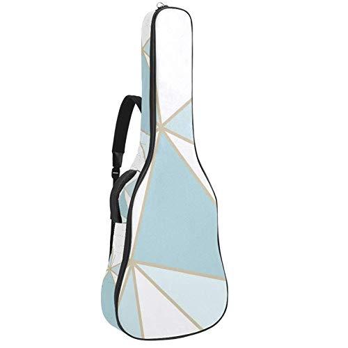 Advantage-Wallpaper - Bolsa de guitarra acústica con correa para el hombro y asa de transporte.