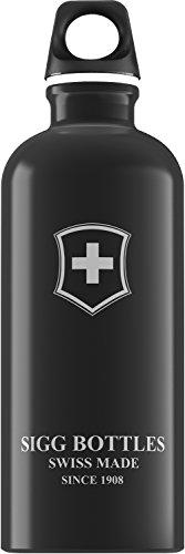 Sigg - Gourde Swiss Emblem Noir 0.6 L