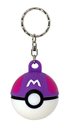Loungefly Pokemon Pokeball 3D Keychain (Master Ball)