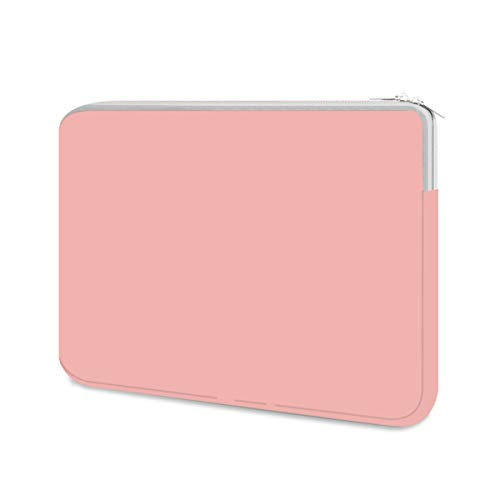 HESTECH Chromebook Case, 11.6-12.5 inch Neoprene Laptop Sleeve Case Bag Handle Compatible with Acer Chromebook r11/HP Stream/Samsung/ASUS C202 L210/Microsoft Surface Pro 7/3/4/5/6,Pink