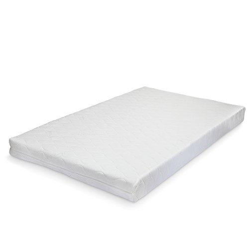 [neu.haus] Materasso in schiuma a freddo 16 cm Materasso memory a 7 zone differenziate Materasso arrotolabile Premium Comfort