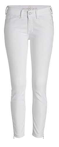MAC Damen 7/8 Jeans Dream Summer Chic 5471 White Denim D010 (40/27)