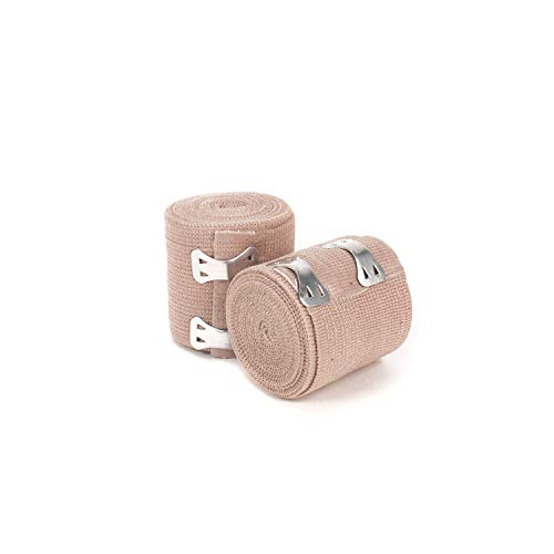 Ever Ready First Aid 2' Elastic Bandage with Clips - Box of 10