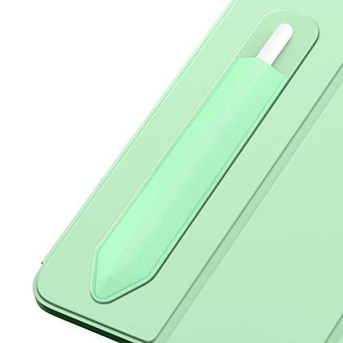 MoKo Funda de Lápiz de 9.7' Compatible con Pencil (1st and 2nd Gen) para New iPad 8ª Generación, iPad 10.2 2019, iPad Air 3 2019, iPad Pro 12.9 2017/2018, iPad Pro 11 /iPad Pro 12.9 2020 - Verde