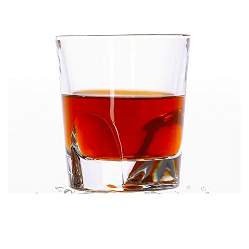chenchen Nuevo clásico Creativo Vino Whisky Cristal Gafas Traje Personalidad Europeo espíritu Cerveza Barra Vidrio Copa Fiesta Bebiendo Sano (Color : 23 (250ml))