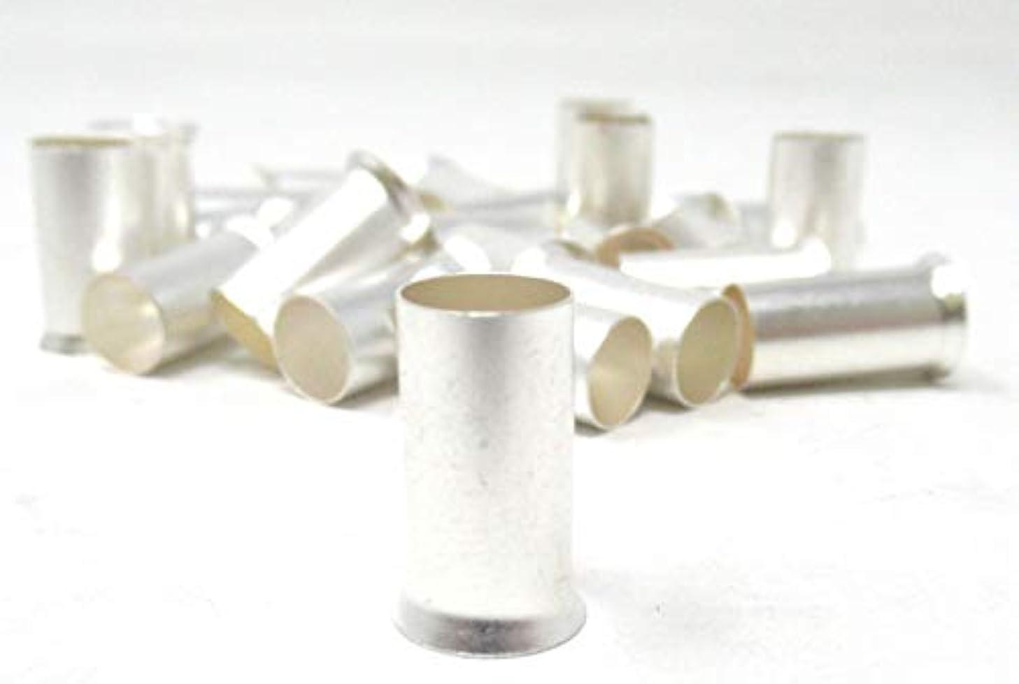 25 PK 4 Gauge Uninsulated Wire Ferrules Crimp Ferrules