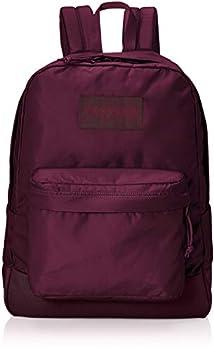 JanSport Mono SuperBreak Backpack - Monochrome Trend Collection Laptop Bag Dried Fig
