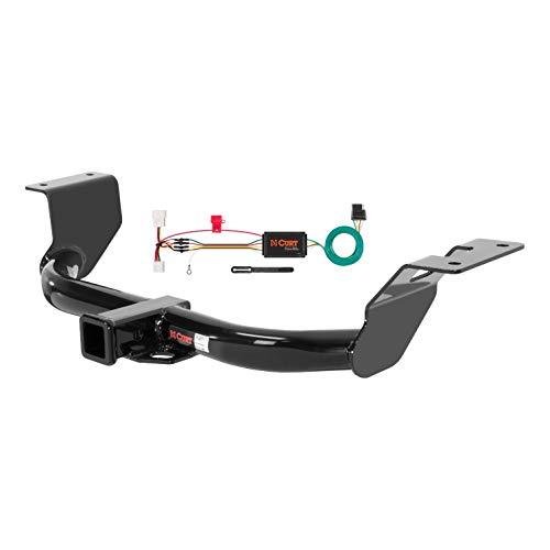 CURT 99306 Class 3 Trailer Hitch, 2-Inch Receiver, 4-Pin Wiring Harness, Select Honda CR-V