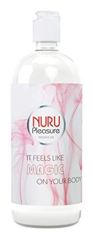Nuru Gel, Massage Gel, Super glatt, Geruchlos, Geschmacklos, Perfekt für Nass Massagen und erotische Ganzkörpermassage, Deluxe Gleitgel (Small - 250 ML)