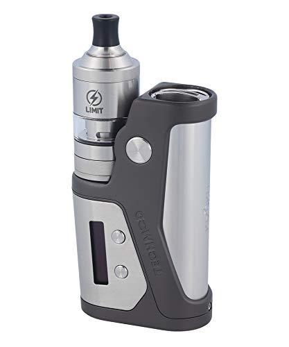 Kizoku Techmod E-Zigaretten Set, 80 Watt - VW, VV, TC, Bypass, Curve, Gunmetal